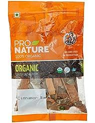 Pro Nature 100% Organic Cinnamon Bark, 50g