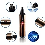 Brand Nose Trimmer For Men And Women Rechargeable Stainless Steel Blade Nose And Ear Trimmer Washable Nose Hair...