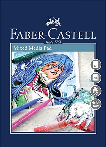 Faber-Castell Universal-Malblock A3 grau