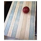 Beach Wood Kontakt Papier abnehmbarer Selbstklebendes Vinyl Theken Abziehen Tapete Tür Aufkleber Film-Stick Küche Duett blau vintage