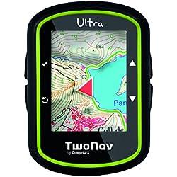 TwoNav U100 - GPS de mano (muñeca, brújula, outdoor, resistente al agua, cartografía), color negro