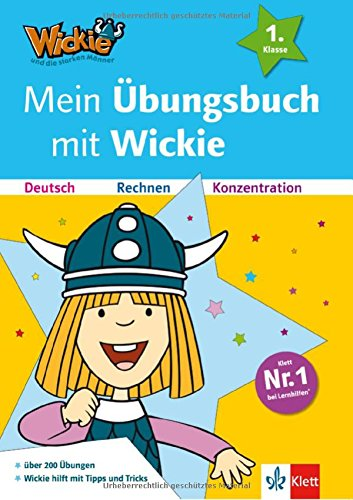 Mein Übungsbuch mit Wickie