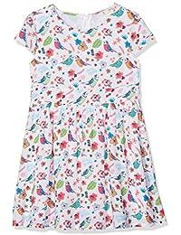Yumi Tropical Bird Print, Vestido para Niños