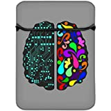 Snoogg Logic And Creative Brain 2412 14 Inch Laptop Case Flip Sleeve Bag Computer Cover