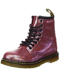 Dr. Martens Delaney, Zapatos de Cordones Derby Unisex Niños