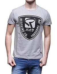 T-shirt Redskins Paical Gris Chiné/noir