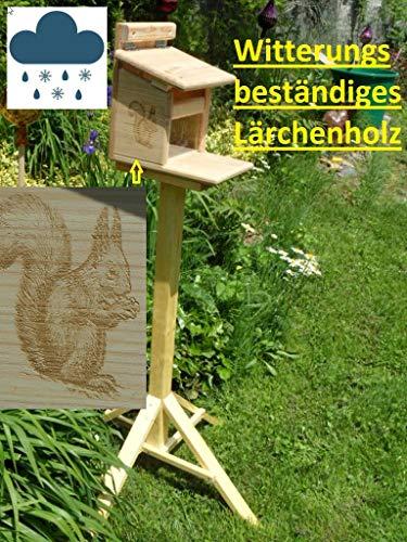 Qualität aus Niederbayern ARBRIKADREX Eichhörnchenfutterhaus Eichhörnchen Haus Kobel