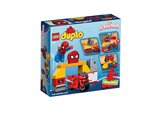 Image of LEGO Duplo Spider-Man Web-Bike Workshop Figure