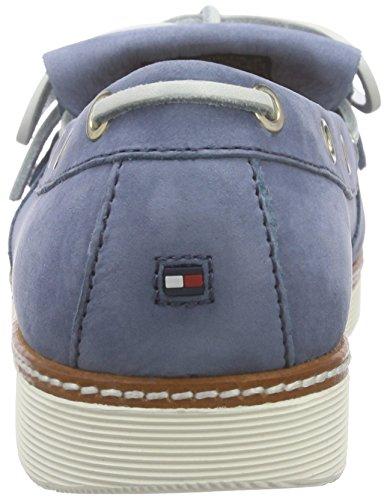Tommy Hilfiger M1285acy 1n, Chaussures bateau femme Bleu - Blau (AZUL 435)