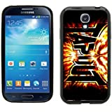 Samsung Galaxy S4 SIIII Black Rubber Silicone Case - Tapout Flames ufc mma fighting tapout