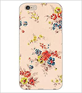 PrintDhaba Floral Pattern D-2339 Back Case Cover for APPLE IPHONE 6 PLUS (Multi-Coloured)