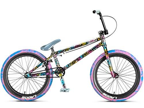 20 Zoll mafiabikes BMX Bike MADMAIN verschiedene Farbvarianten Harry Main, Farbe:Splatter