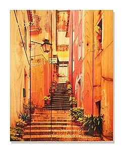Gizaun Art Artist Alley Inside/Outside Full Color Cedar Wall Art from Daydream LLC