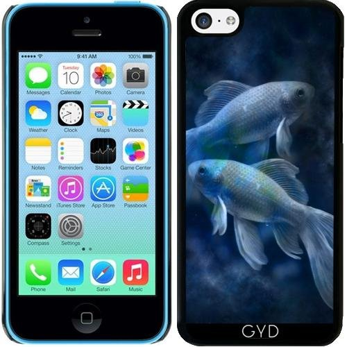 Hülle für Iphone 5c - Blaue Fische by WonderfulDreamPicture (5c Coral Fall)