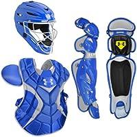 Under Armour serie profesional JRP Juego de la juventud receptor de béisbol, Royal