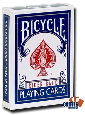 Jeu de 54 cartes Bicycle : Magie Dos Bleu /Face