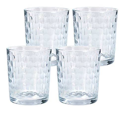 GRÄWE Whiskyglas-Set 'Old Fashion Whisky Tumbler', 4 Stück