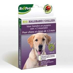 BSI Biopet Collier Ecologique sans Insecticide pour Chien 64 cm
