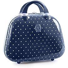 VICTORIO & LUCCHINO - 80135 Neceser rígido policarbonato PC grande de viaje, maleta de aseo