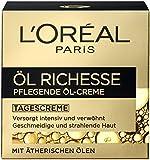 L'Oréal Paris Öl Richesse Pflegende Öl-Creme, 1er Pack (1 x 50 ml)