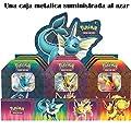 The Pokémon Company - Caja metálica Poder Elemental - Español (POTB1901) por The Pokémon Company