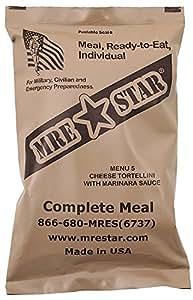MRE Star Ready-to-Eat Menü: 5 Cheese Tortellini
