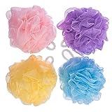 #9: GloptookBath Shower Soft Loofah Sponge Pack of 4