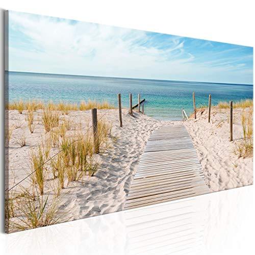 Murando Cuadro Lienzo Playa 135x45 cm 1 Parte impresión