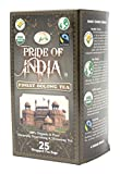 Pride Of India - Organic Oolong Tea (Bio- Digestive Oolong Tee) ,25 Zählerkästen (1-Pack (25 Tea Bags))