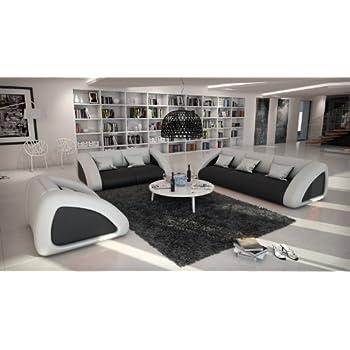 Dieser Artikel SAMR Sofa Garnitur Ciao Combi 3 2 1 Schwarz Weiss Designed By Ricardo Paolo Wohnlandschaft Futuristisch Wohnzimmer Landschaft Mit