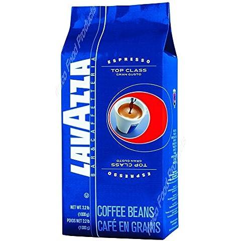 Lavazza Caffè Espresso Top Class Gran Gusto, Caffè in Grani, 6 Confezioni, 6 x 1000g