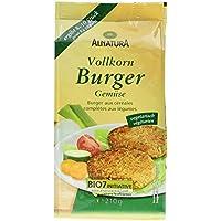 Alnatura Bio Vollkorn Burger Gemüse, 210 g