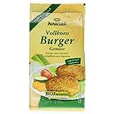Alnatura Bio Vollkorn-Burger Gemüse, 5er Pack (5 x 210 g) -