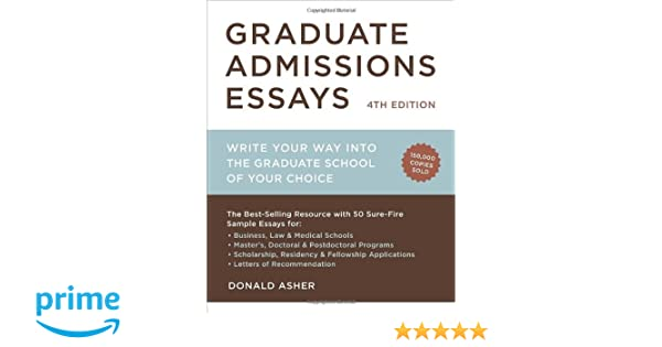 best admission essays