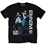 Eminem Herren T-Shirt Schwarz Schwarz Large Gr. Large, Schwarz