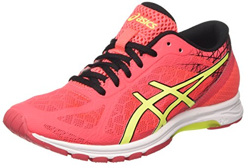 ds racer ASICS Damen Gel-ds Racer 11 Gymnastikschuhe, (Diva Pink/Safety Yellow/Black), 38 EU