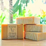Handmade Goat's Milk and Honey Soap - 10...