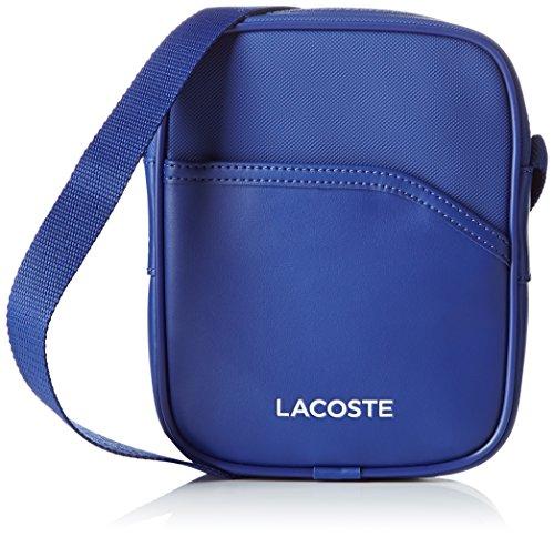 Lacoste Herren Nh0862ut Umhängetaschen, 20 x 4 x 15 cM MAZARINE BLUE (Mazarine Blue)