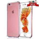 Ylife Handyhülle Kompatibel iPhone 6s, Hülle Kompatibel iPhone 6, Ultra Dünn Transparent Weiche TPU Silikon Schutzhülle, Anti-Fingerabdruck, Anti-Kratz, 4.7 Zoll Clear Cover Case