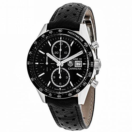 Tag Heuer Carrera Calibre 16Automatik Herren-Armbanduhr cv201aj. fc6357