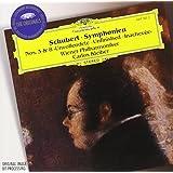 "Schubert : Symphonies n° 3 et n° 8 ""Inachevée"""