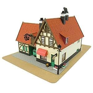 1/150 Kiki's Delivery Service Bakery Gutiokipanja Gutiokipanya Paper Craft Ki... (japan import)