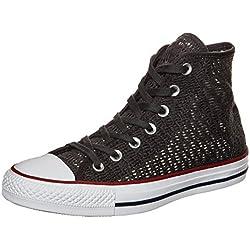 Converse Zapatillas Abotinadas Chuck Taylor All Star Crochet Gris EU 36
