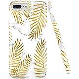 GopeE IPhone 7 Plus Case,iPhone 8 Plus Case, Marble Design Clear Bumper TPU Soft Case Rubber Silicone Skin Cover For IPhone 7 Plus (2016)/iPhone 8 Plus (2017) - B07H1HN36F