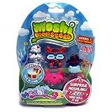 Moshi Monsters Moshlings 5 Pack - Fifi - Waldo - Humphrey - Purdy & Surprise Figure