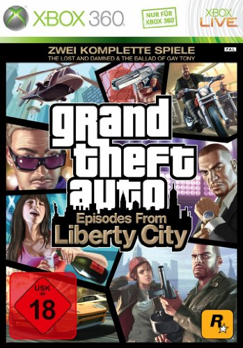 Grand Theft Auto - Episodes from Liberty City (TheLost and the Damned & The Ballad of Gay Tony) [Software Pyramide] - [Xbox 360]