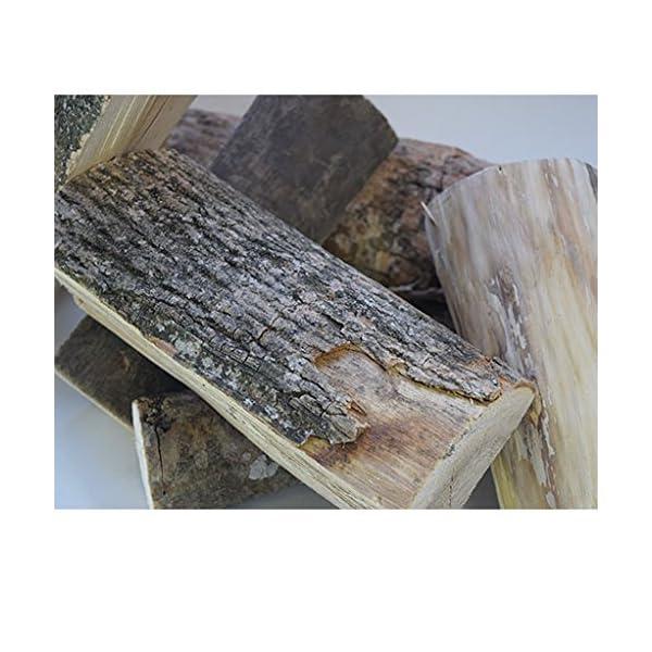 54 litros de ceniza caja de cenizas secado al horno troncos-25 cm de largo, mejores troncos de troncos, 18% de humedad, más tiempo de combustión-perfecto para cocinar carnes, fogatas, estufas