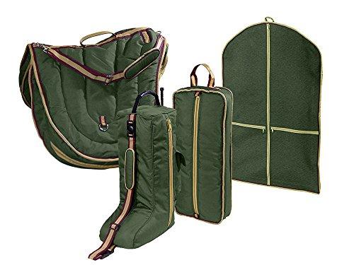 Derby English Pferd Sattel, Zaumzeug, Stiefel, und Garment Tragetasche Set mit EIN Jahr Garantie