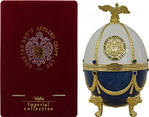 Imperial Collection Wodka Fabergé Ei Weiß-Blau (1 x 0.7 l)
