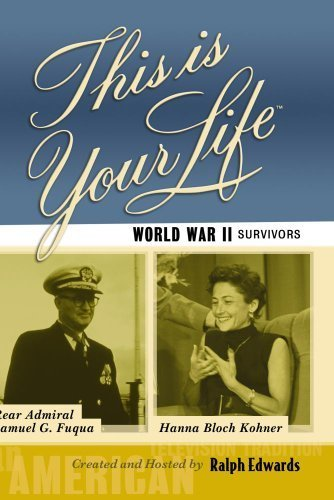 World War II Survivors - Rear Admiral Samuel Fuqua and Hanna Bloch Kohner